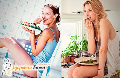 Здоровая пища от целлюлита